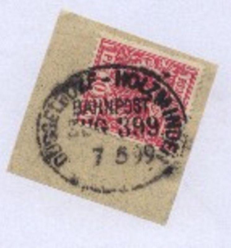 DÜSSELDORF-HOLZMINDEN ZUG 399 7.5.99 auf Bf.-Stück