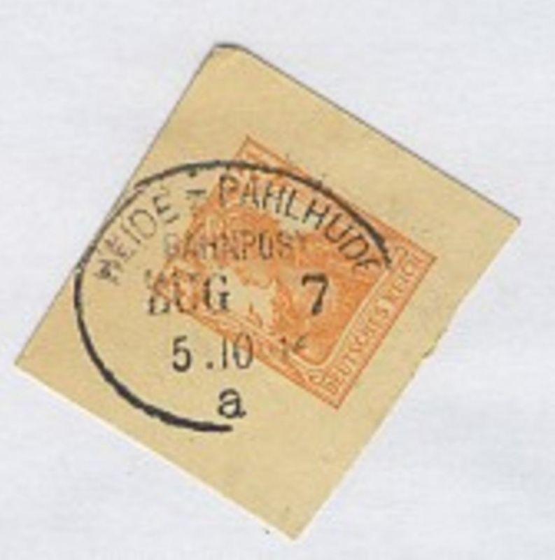 HEIDE-PAHLHUDE a ZUG 7 5.10.16 auf Bf.-Stück