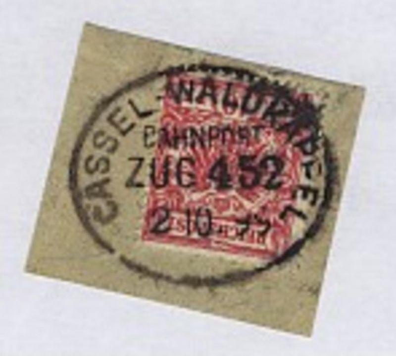 CASSEL-WALDKAPPEL ZUG 452 2.10.99 auf Bf.-Stück
