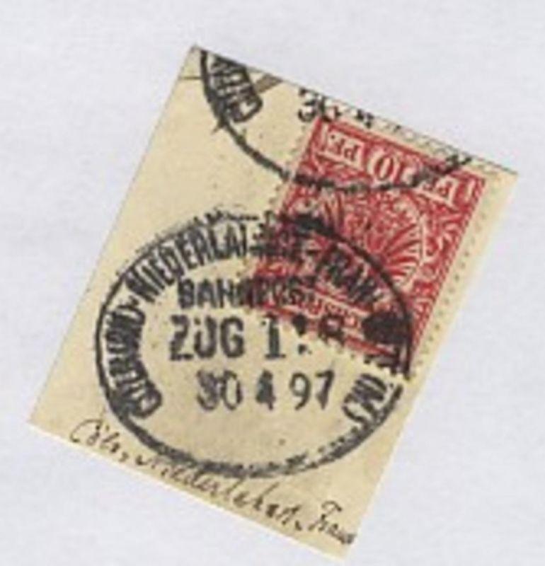 CÖLN (RH)-NIEDERLAHNST.-FRANKFURT (M.) ZUG 118 30.4.97 auf Bf.-Stück