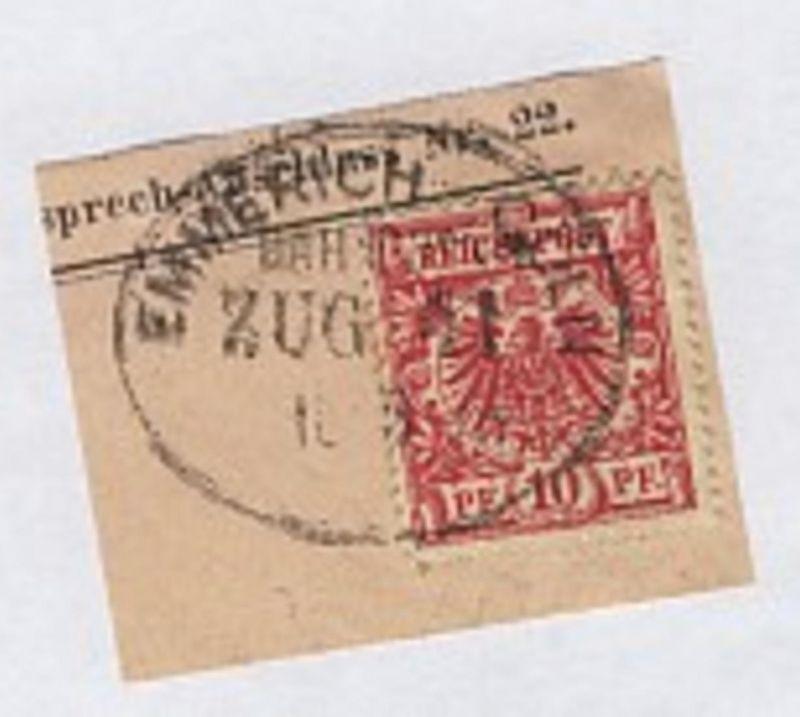 EMMERICH-CÖLN ZUG 41 18.8.98 auf Bf.Stück