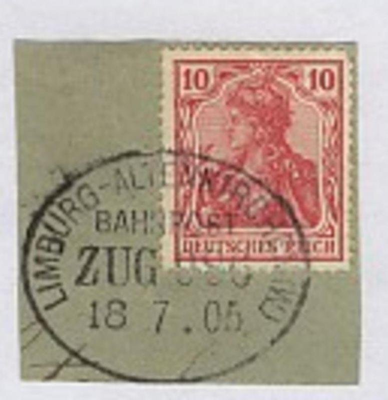 LIMBURG-ALTENKIRCHEN (W) ZUG 986 18.7.05 auf Bf.-Stück 0