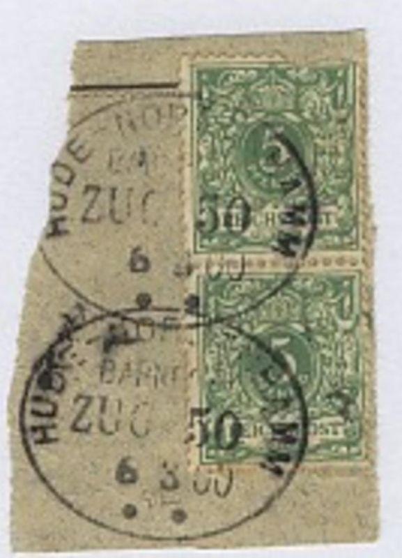 HUDE-NORDENHAMM ZUG 506.3.00 auf Bf.-Stück