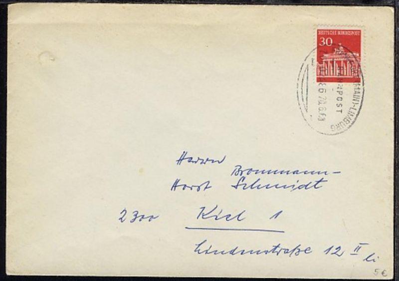 FRANKFURT (MAIN)-LIMBURG ZUG 02486 20.6.68 auf Bf.