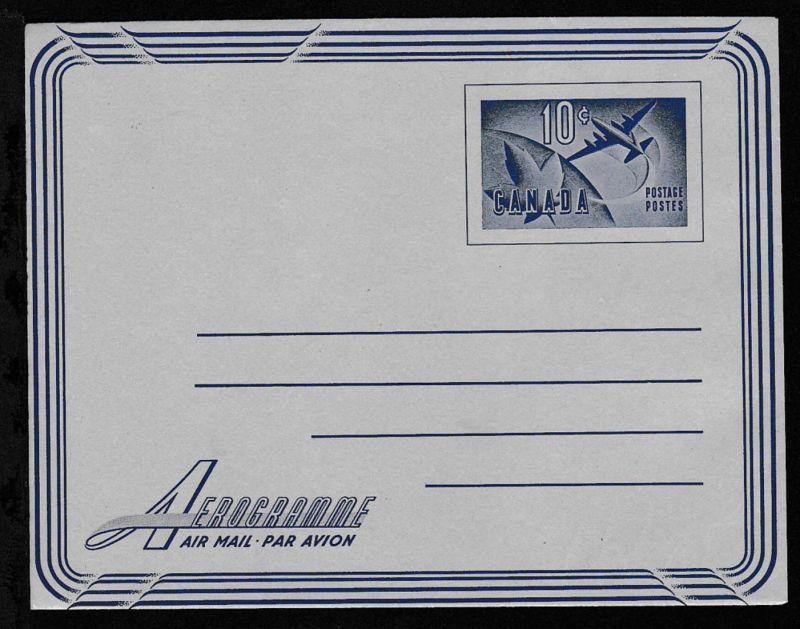 Aerogramm 10 C., ungebraucht