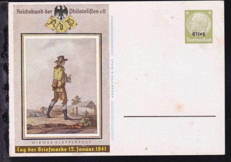 Tag der Briefmarke, Karte etwas unfrisch