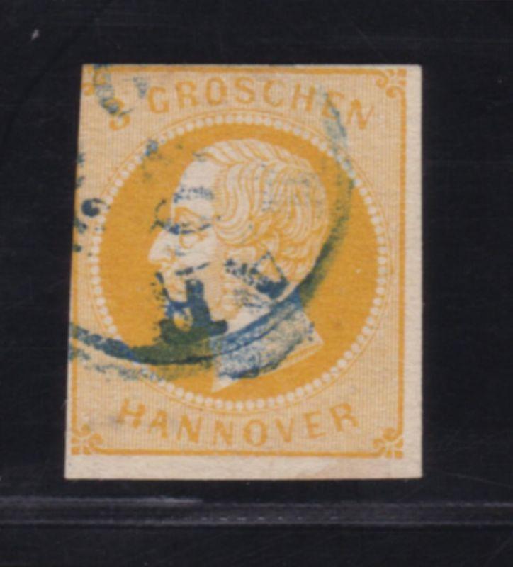 König Georg V. 3 Gr., etwas höher gepr. Dr. Bri