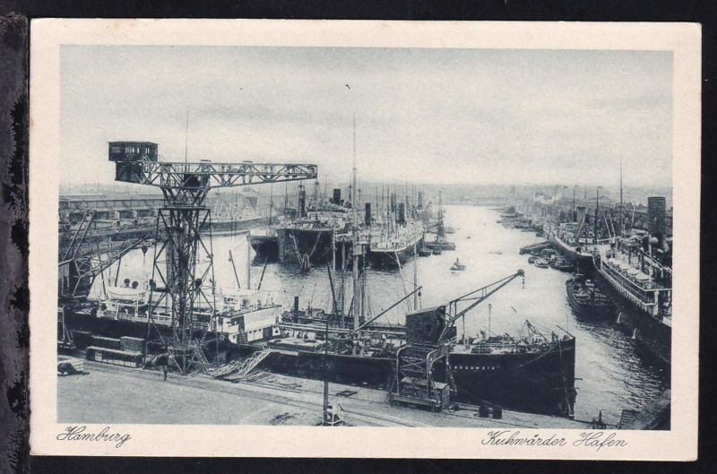 Hamburg Kuhwärder Hafen