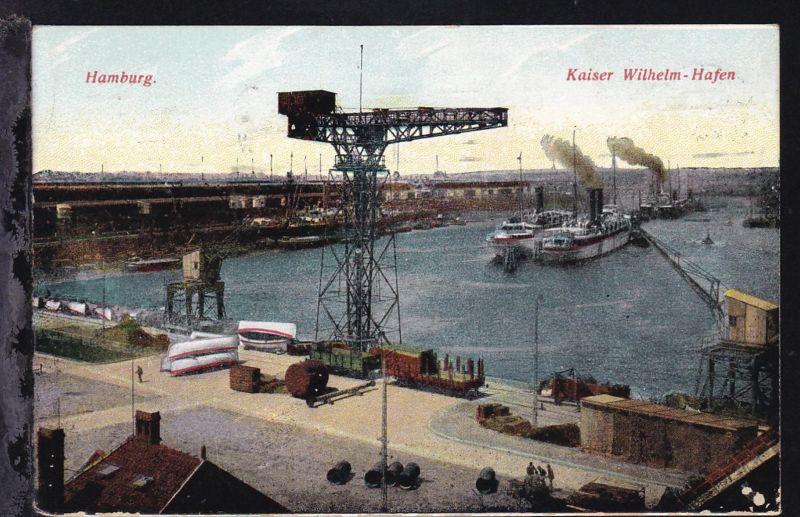 Hamburg Kaiser Wilhelm-Hafen