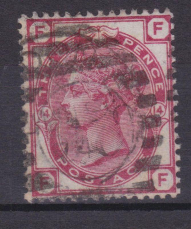 Königin Viktoria 3 P. Platte 14