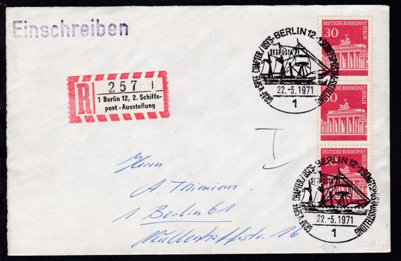 Berlin Sonderstempel BERLIN 12 1 GRAF v. SPEE CHAPTER/USCS 0