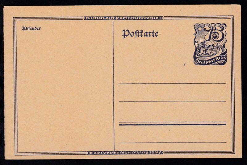 Postreiter 75 Pfg.