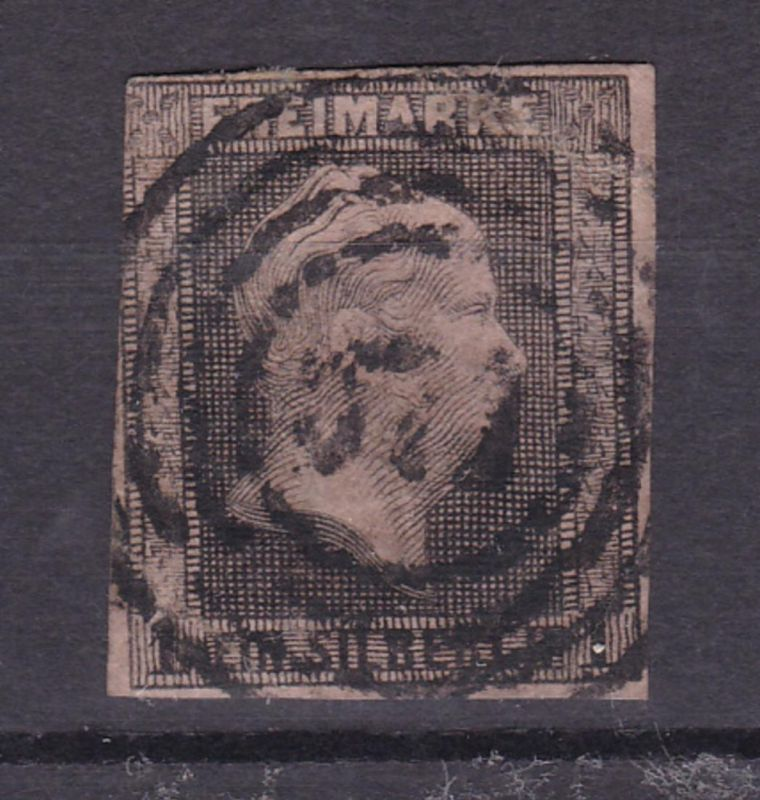König Friedrich Wilhelm IV 1 Sgr. mit  etwas undeutl. Nummernstempel 571 (?)