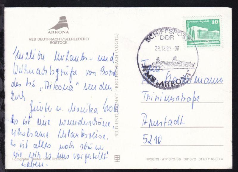 SCHIFFSPOST DDR MS