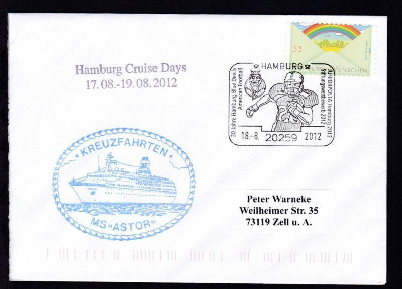 HAMBURG 20259 20 Jahre Hamburg Blue Devils American Football JUNIORPOSTA Hamburg