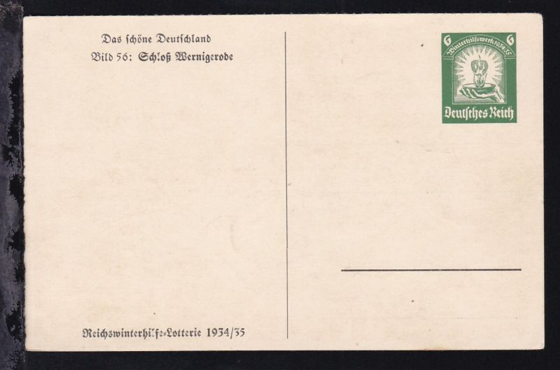 Winterhilfe mit Bild 56: Schloß Wernigerode
