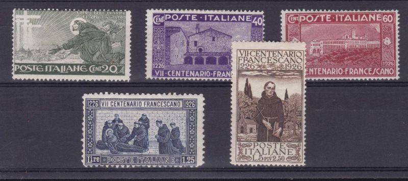 700. Todestag des hl. Franziskus, *