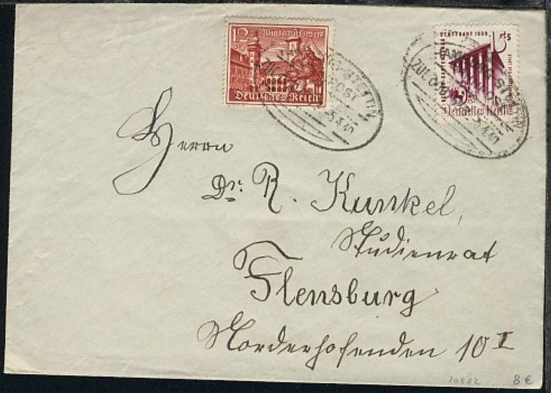 HAMBURG-STETTIN ZUG 000/338 5.4.40 auf Bf.