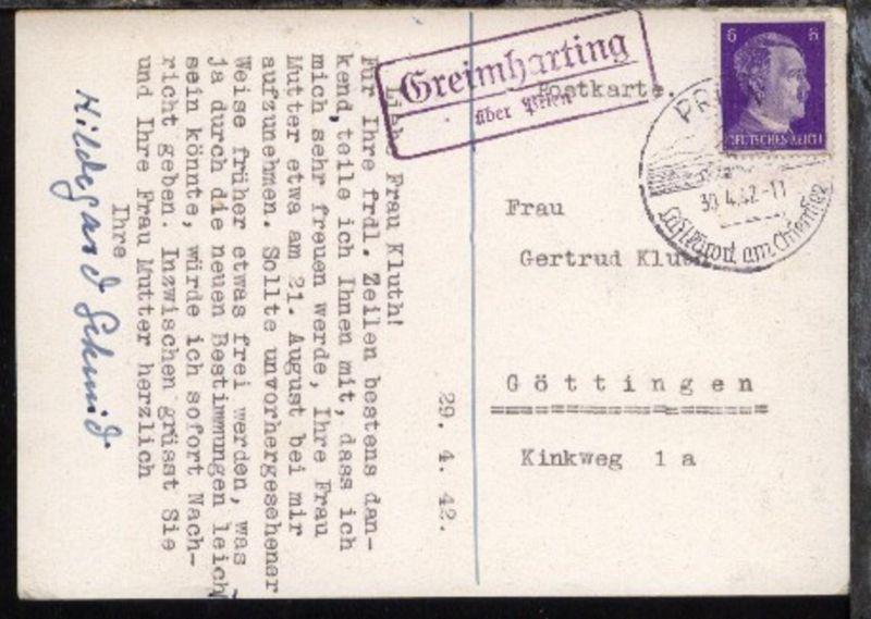 R2 Vesser über Schmiedefeld A Rennsteig Orts-werbe-stpl Schmiedefeld 10.7.59