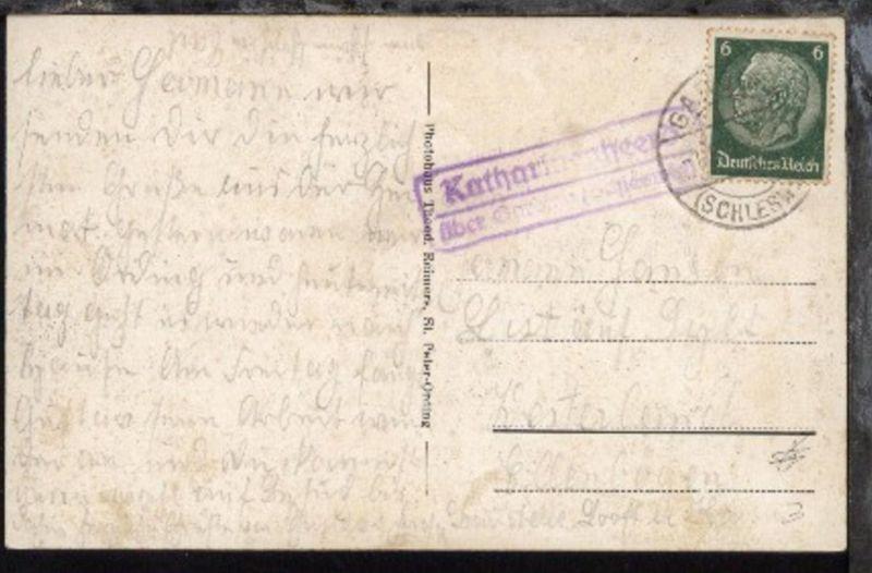 OSt. Garding 1.8.38 + R2 Katharinenheerd über Garding (Schleswig) auf AK