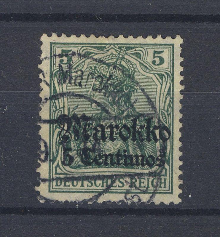 5 C. mit Stpl. (TANGE)R (Marokko) 9.1.14 (41)