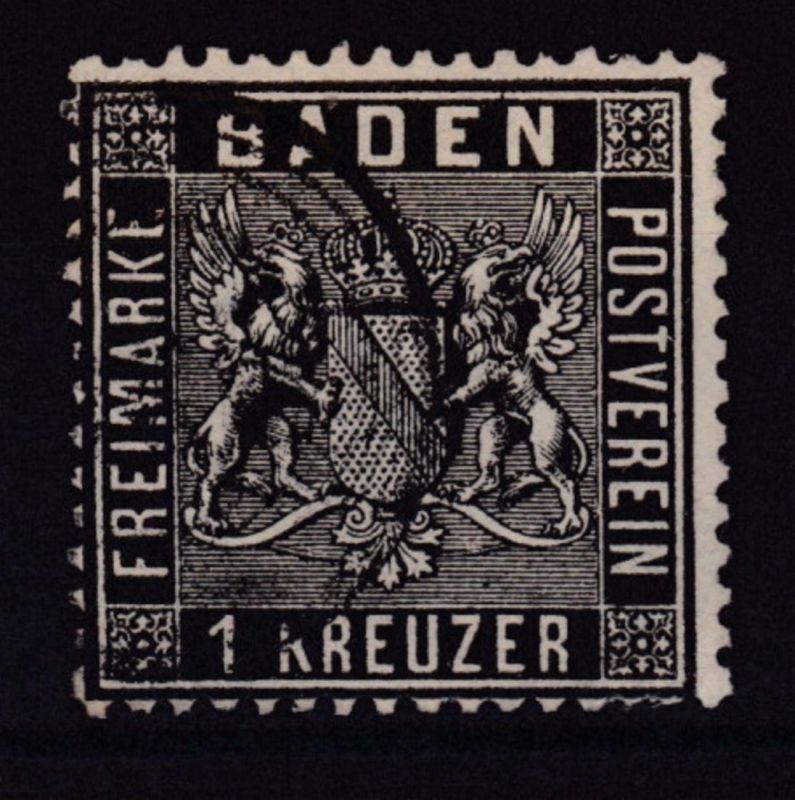 Wappen 1 Kreuzer