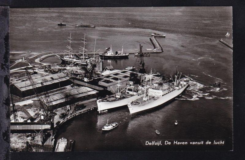 Delftijl (Hafen aus Luft)