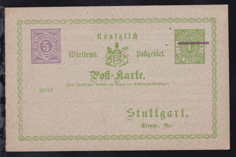 Stuttgart K.W. Güter-Expedition