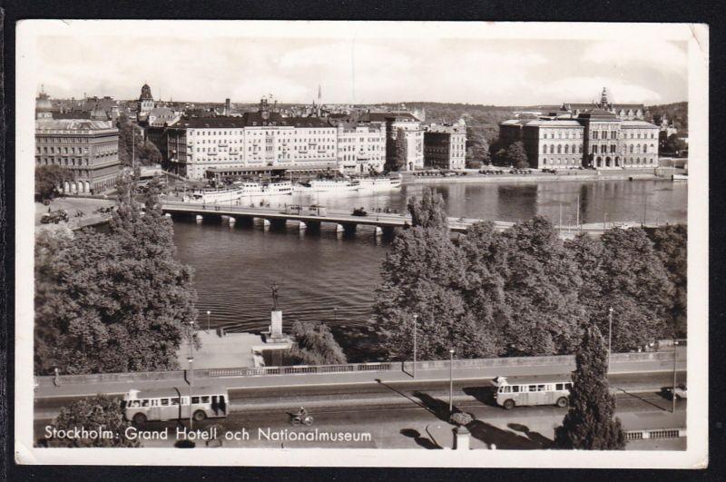 Stockholm Grand-Hotel und Nationalmuseum