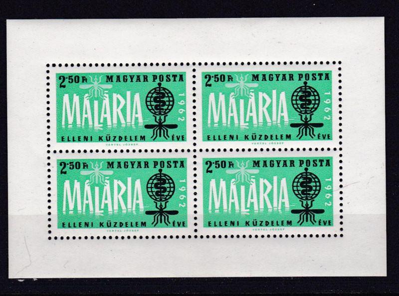 Kampf gegen die Malaria Block **