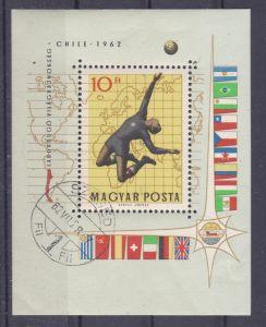 Fußball-Weltmeisterschaft 1962 Chile Block