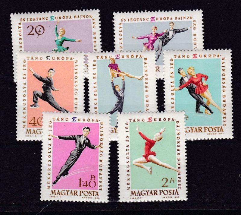 Europameisterschaften im Eiskunstlauf in Budapest **