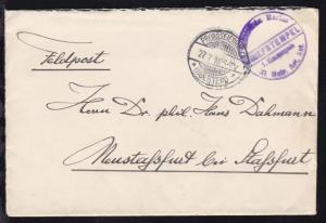 OSt. Probsteinhagen (Holstein) 27.7.16 + Steg-K1 BRIEFSTEMPEL