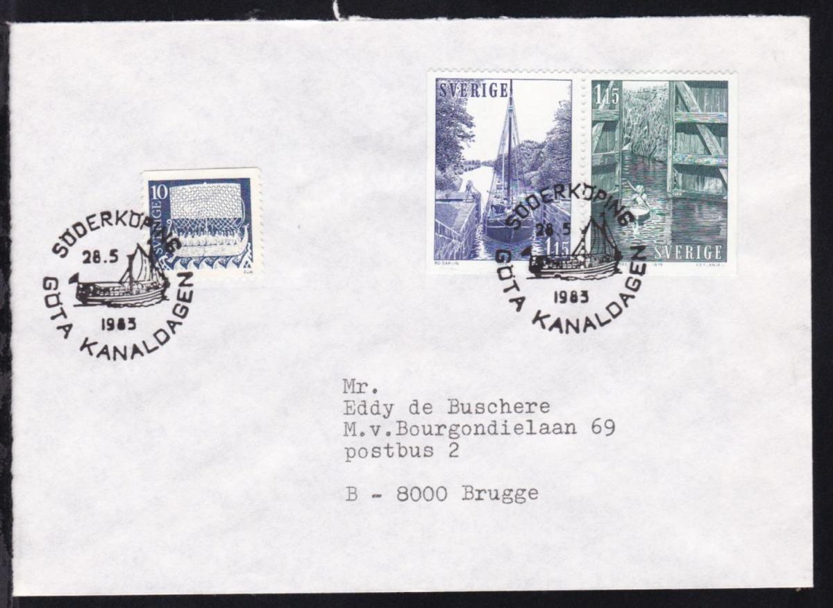 SÖDERKÖPING GÖTA KANALDAGEN 28.5.1985 auf Brief 0