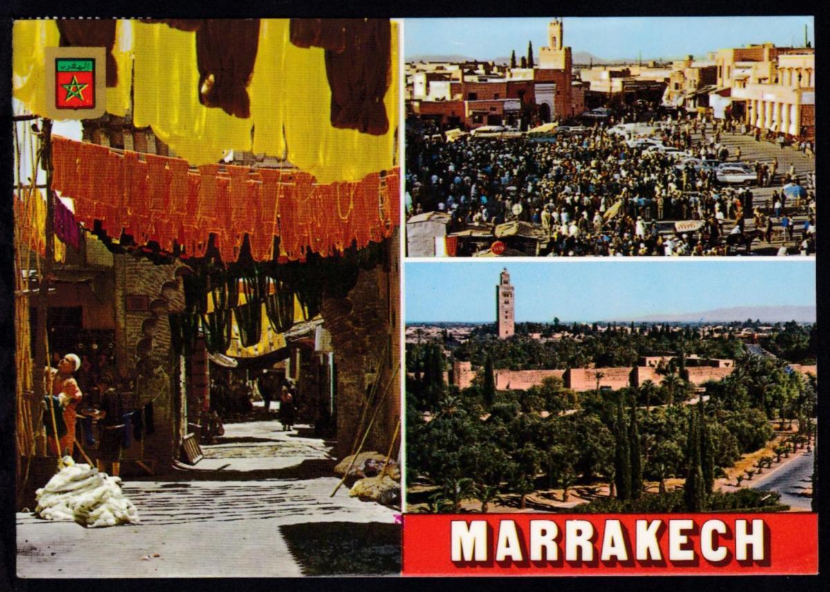 K1 MS GRUZIYA auf CAK (Marrakech) ab Tanger 4.1.1983 nach Garbsen 1