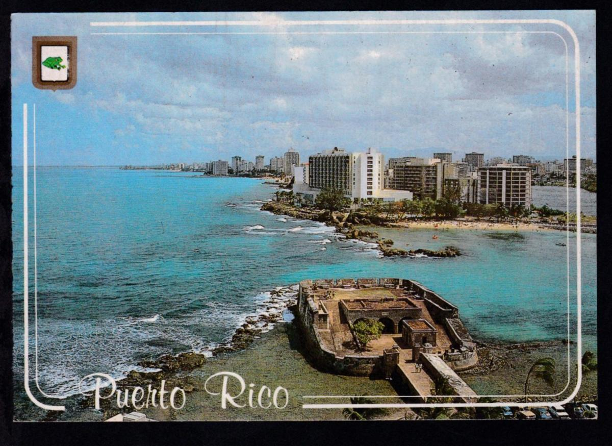 R4 M/S VISTAFJORD ON CRUISE POSTED ON BOARD FEB 19 88 auf CAK (Puerto Rico) 1