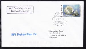 R2 Auf See eingeliefert Navire-Paquebot + OSt. Bremerhaven 14.11.01 + L1