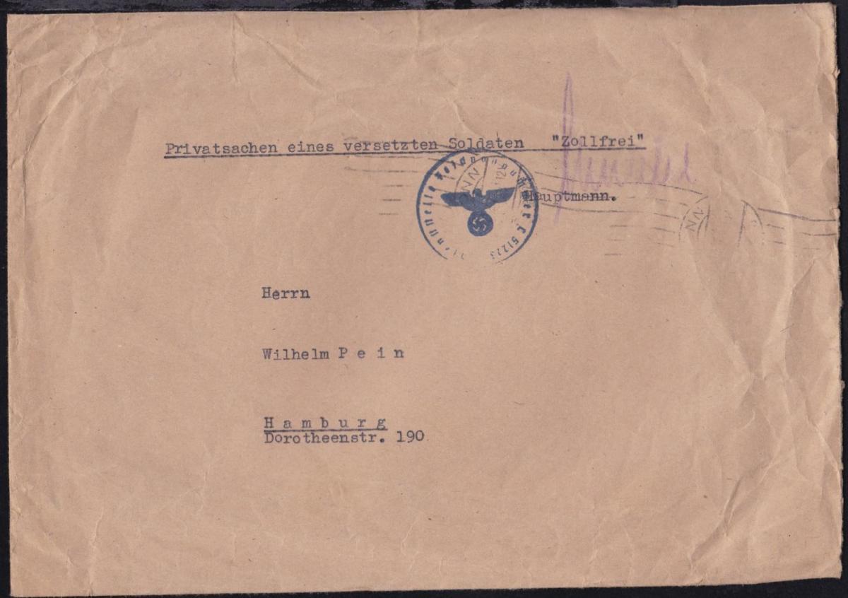 1944 K1 Dienststelle Feldpostnummer L 51223 (= Pionierkompanie