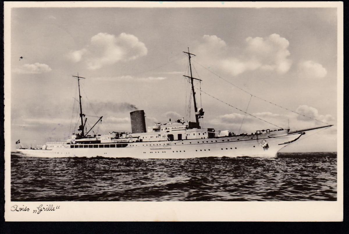 Tarnstempel 29.3.40 + K1 Kriegsmarine Marinelazarett Varel auf Feldpost-AK 1