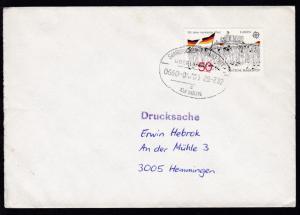 SAARBRÜCKEN-FRANKFURT AM MAIN ÜBERLANDPOST e 0660-04/01 29.7.82 auf Brief