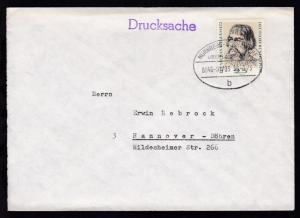 NÜRNBERG-SCHWANDORF ÜBERLANDPOST b 0846-01/03 30.1.73 auf Brief