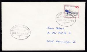 MARKTREDWITZ-BAYREUTH ÜBERLANDPOST a 0859-01/03 25.5.76 auf Brief