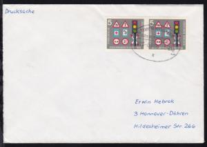 MILTENBERG-ASCHAFFENBURG ÜBERLANDPOST a 0876-01/05 1.2.66 auf Brief