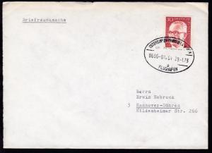 OSTERBURKEN-FRANKFURT AM MAIN FLUGHAFEN ÜBERLANDPOST a 0696-01/01 29.1.73