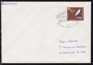 MILTENBERG-ASCHAFFENBURG ÜBERLANDPOST a 0876-01/05 6.7.65 auf Brief
