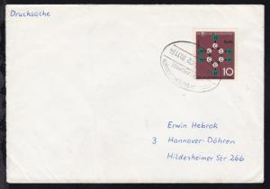MÜNCHEN-BERCHTESGADEN ÜBERLANDPOST a 0800-01/02 30.11.64 auf Brief