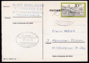 HAGEN-FLUGHAFEN KÖLN/BONN Üp 8580-1 01 12.1.71 auf CAK