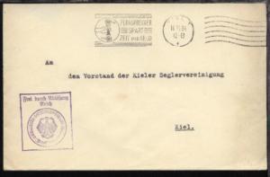 Maschinen-Stpl. Kiel 16.11.34 + BfSt. Kommando der Marine-Station Ostsee