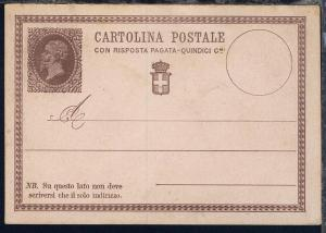 König Victor Emanuell II 15 Cmi Frageteil