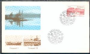 FAEMUND II 7460 RÖROS 11.6.1981 auf Sonder-Umschlag ohne Anschrift